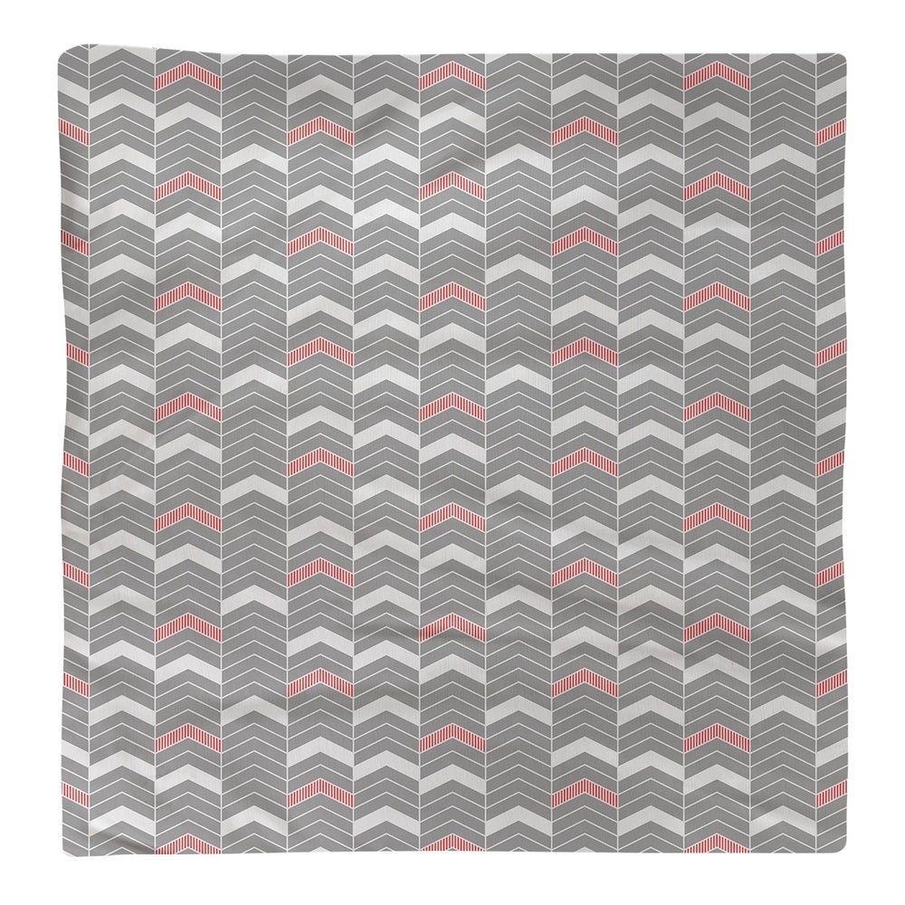 Shop Color Accent Lined Chevrons Napkin - Overstock - 28523530