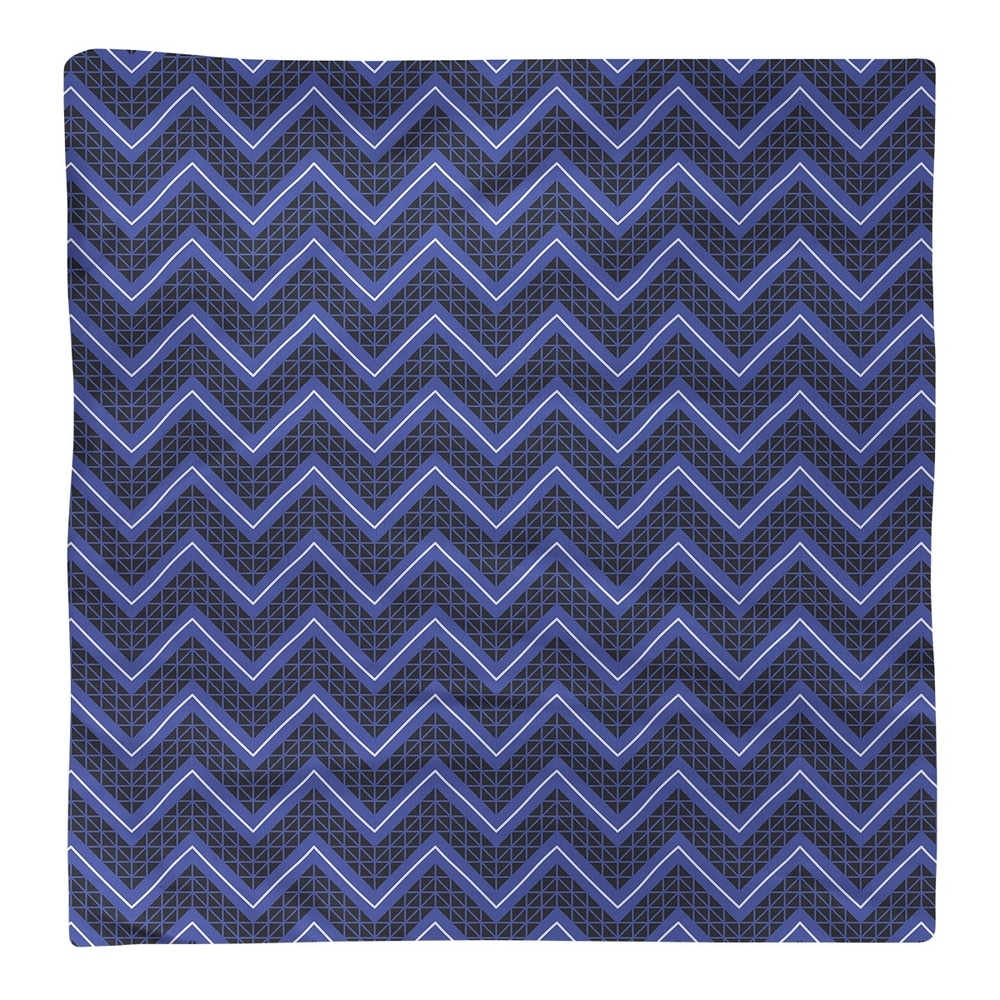 Shop Reverse Color Accent Hand Drawn Chevrons Napkin - Overstock - 28523542