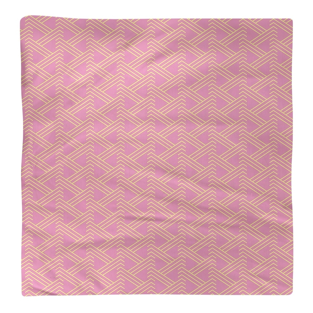 Shop Full Color Zig Zag Pattern Napkin - Overstock - 28523552