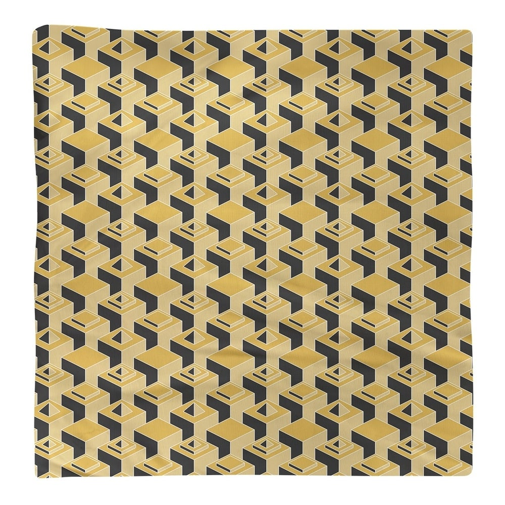 Shop Black & Color Skyscrapers Pattern Napkin - Overstock - 28523562