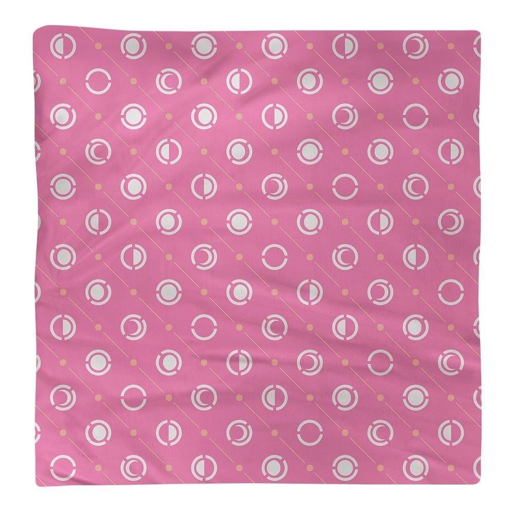 Shop Three Color Moon Phases Pattern Napkin - Overstock - 28523575