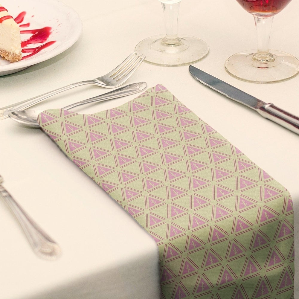 Shop Three Color Minimalist Trees Napkin - Overstock - 28523580