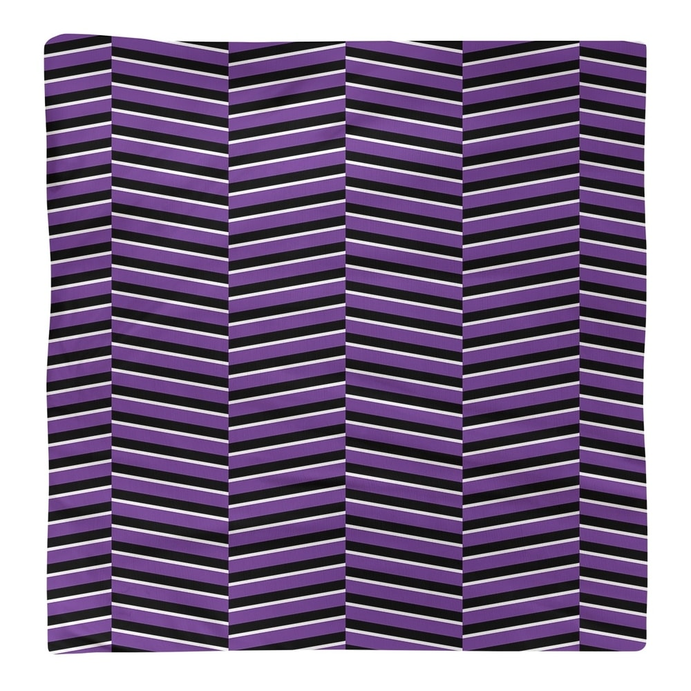 Shop Black & Color Fractured Stripes Napkin - Overstock - 28523584