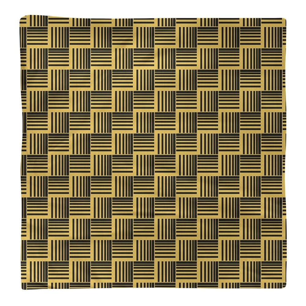 Shop Black & Color Basketweave Stripes Napkin - Overstock - 28523589
