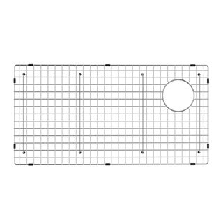 KRAUS Stainless Steel Bottom Grid for Bellucci Granite Farmhouse Sink