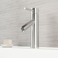 VIGO Alicia Chrome Single Hole Bathroom Faucet
