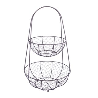 DII Chicken Wire Tiered Stand