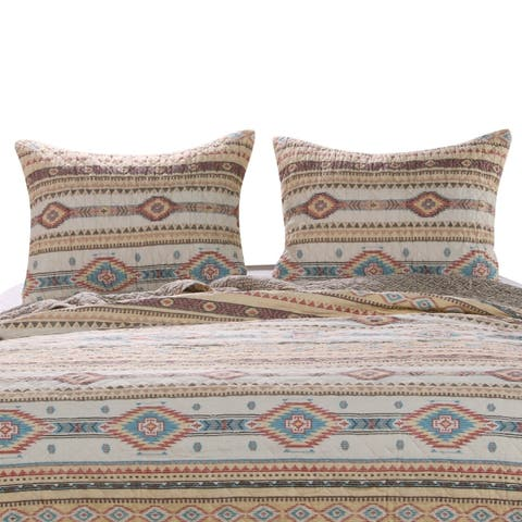 The Curated Nomad San Carlos Tan Pillow Shams (Set of 2)