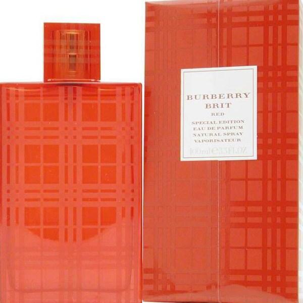 Burberry Brit Red Women's 3.4-ounce Eau de Parfum Spray