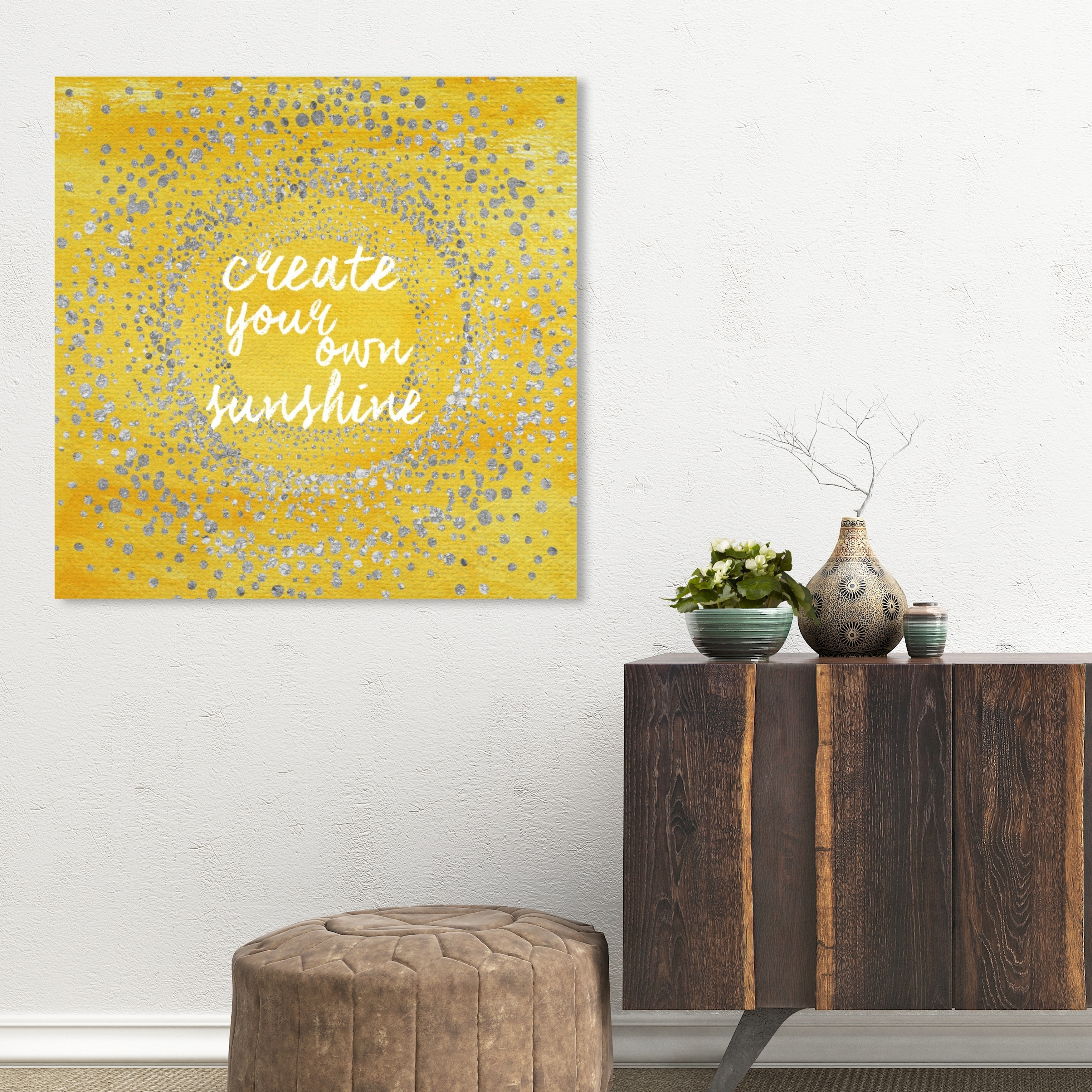 shop oliver gal your own sunshine typography and quotes wall art