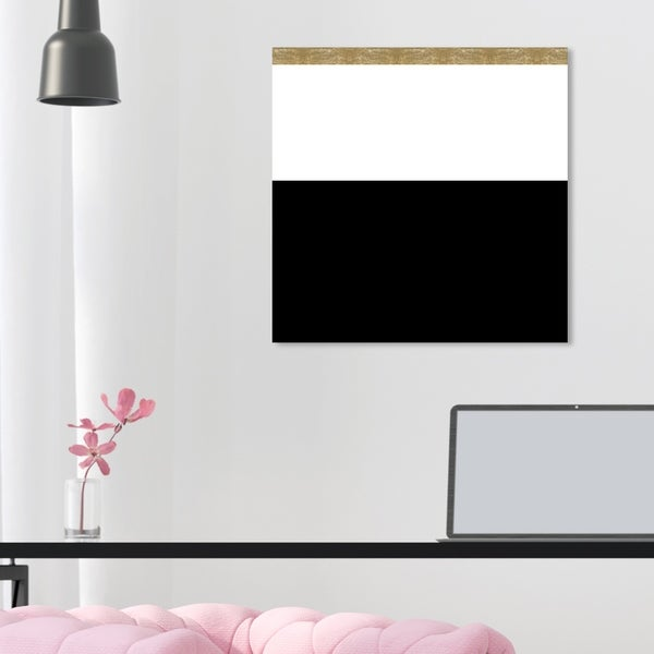 Prime Shop Oliver Gal Color Block Abstract Wall Art Canvas Print Home Interior And Landscaping Staixmapetitesourisinfo