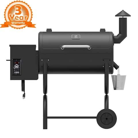 Z Grills ZPG-550B Wood Pellet BBQ Grill & Smoker