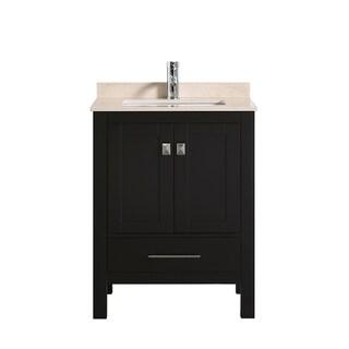 "Eviva London 30""  Espresso bathroom vanity - N/A"
