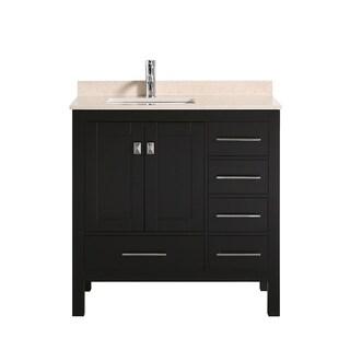 "Eviva London 36""  Espresso bathroom vanity - N/A"