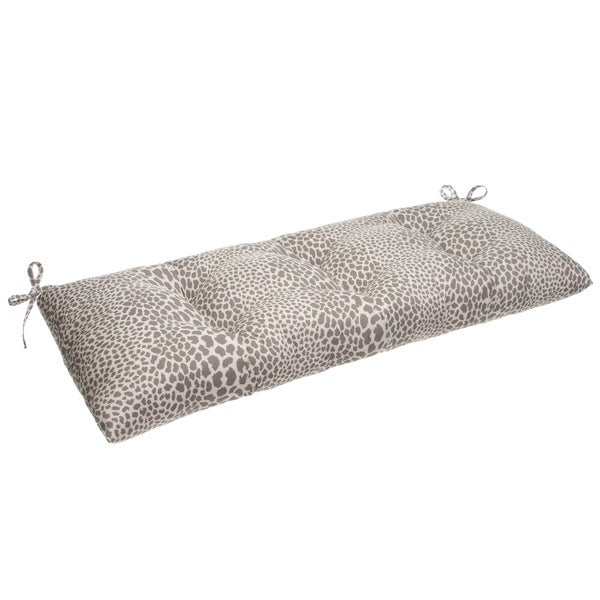 Glasgow Catwalk Reversible Tufted Loveseat/Bench Cushion with Ties by Havenside Home