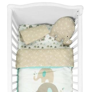 Shop Camel Brown Paisley 12 Piece Baby Bedding Set Free