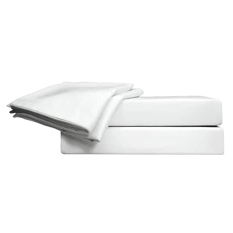 700 TC 100% Egyptian Quality Cotton Sateen,Full Bedding 4 Piece Sheet Set with Deep Pocketed Fitted Sheet