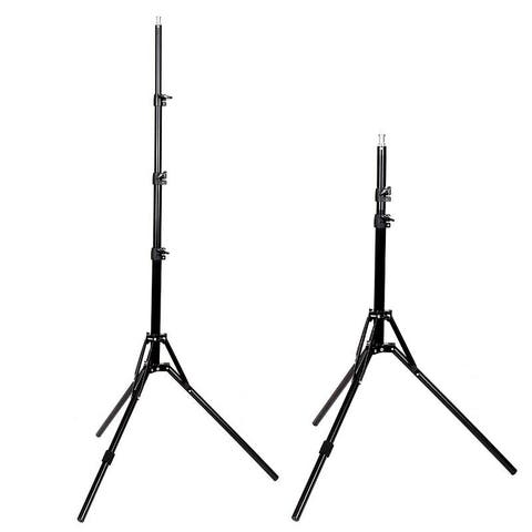 Kshioe Single 2m Light Stand Reflexed Light Stand for Quality Photography - Black