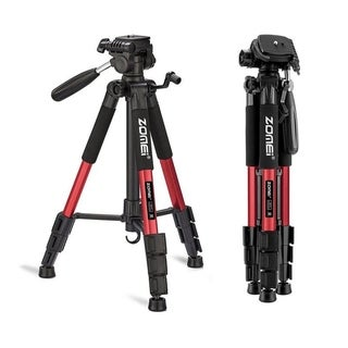 "Link to 55"" Photography Kit Aluminum Alloy Tripod Non-slip Rubber 3 Color Similar Items in Photo Studio"