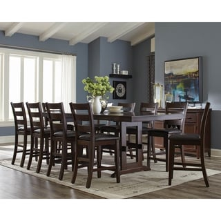 Parmenter Antique Tobacco 7-piece Counter Height Dining Set