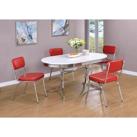 Parlisse 7-piece Oval Dining Set