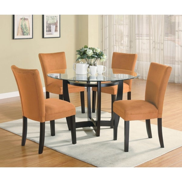 Copper Grove Mpika 5-piece Round Dining Set. Opens flyout.