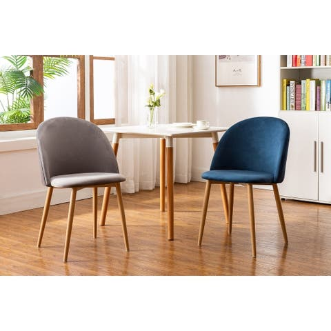 Porthos Home Jailyn Dining Room Chairs Set Of 4, Velvet And Metal