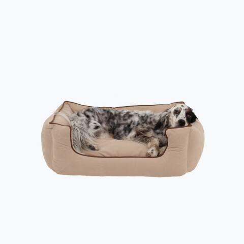Carolina Pet Low Profile Kuddle Lounge Orthopedic Pet Bed