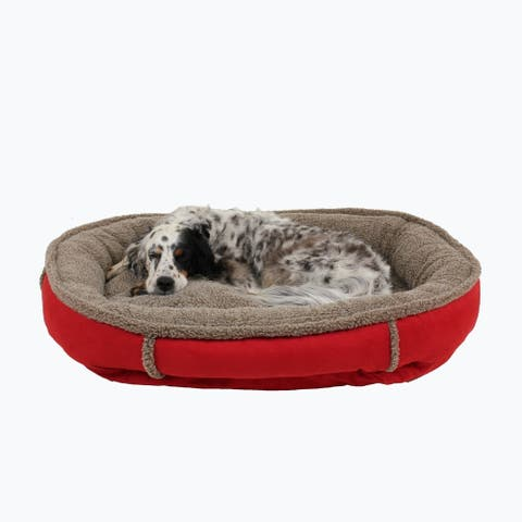 Carolina Pet Faux Suede Round Orthopedic Comfy Cup