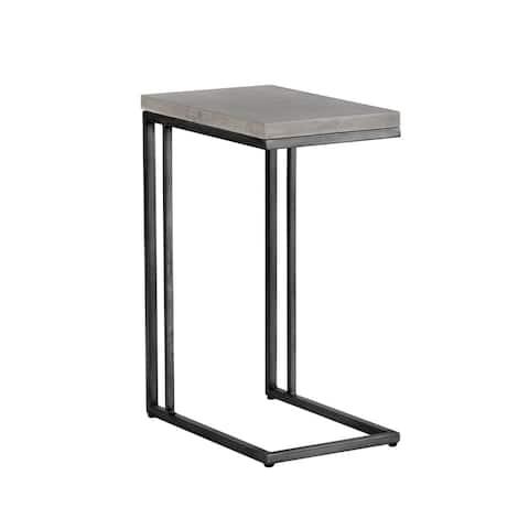 Sunpan 102166 Sawyer C-Shaped End Table