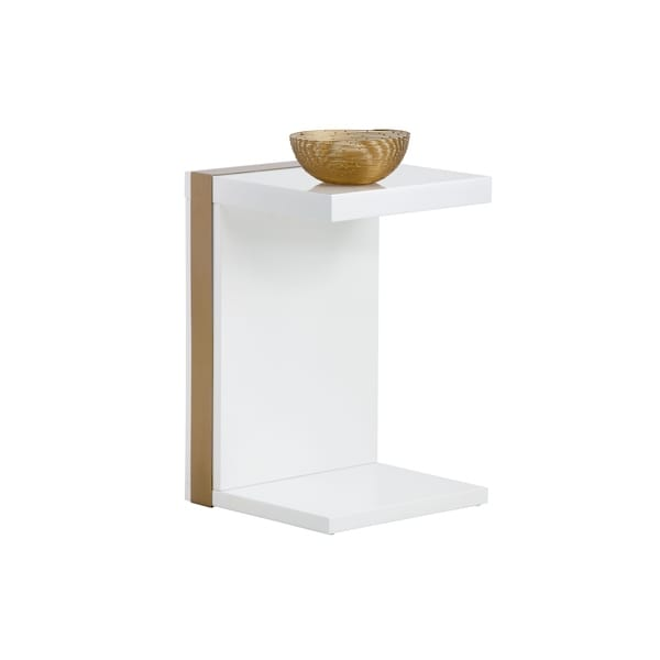 Sunpan 103280 Ivy End Table - Brushed Brass. Opens flyout.