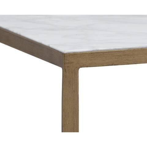 Sunpan 103452 Evert End Table - White