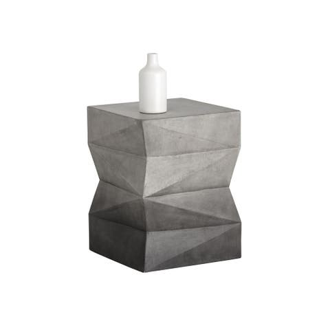 Niran Pedestal - Black and White Ombre