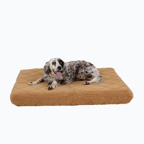 Carolina Pet Quilted Orthopedic Jamison Pet Bed