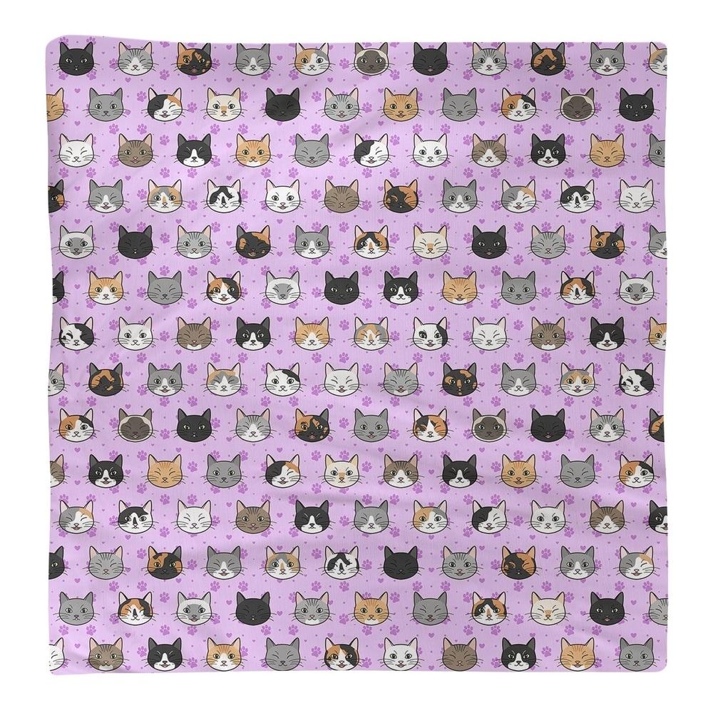 Shop Kitty Cat Pattern Napkin - Overstock - 28527778