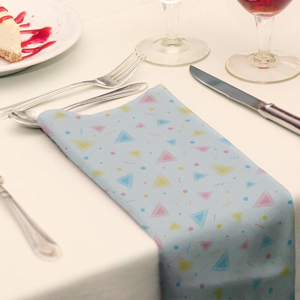 Shop 90's Retro Pattern Napkin - Overstock - 28527783