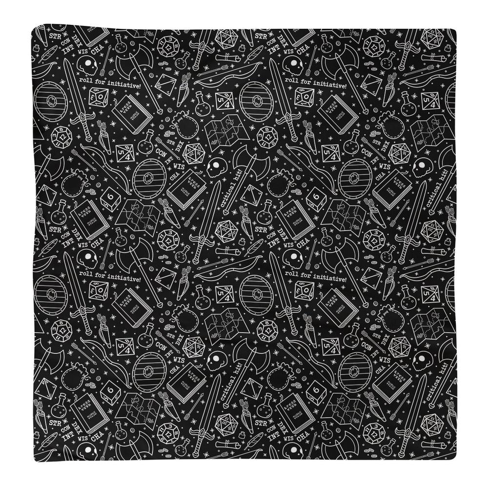 Shop Classic RPG Pattern Napkin - Overstock - 28527798