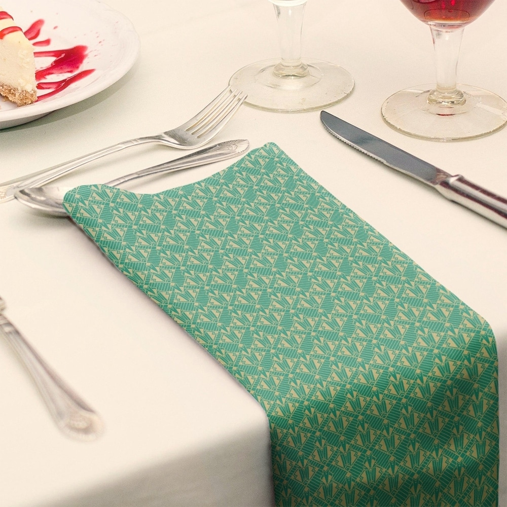 Shop Classic Art Deco Napkin - Overstock - 28527799