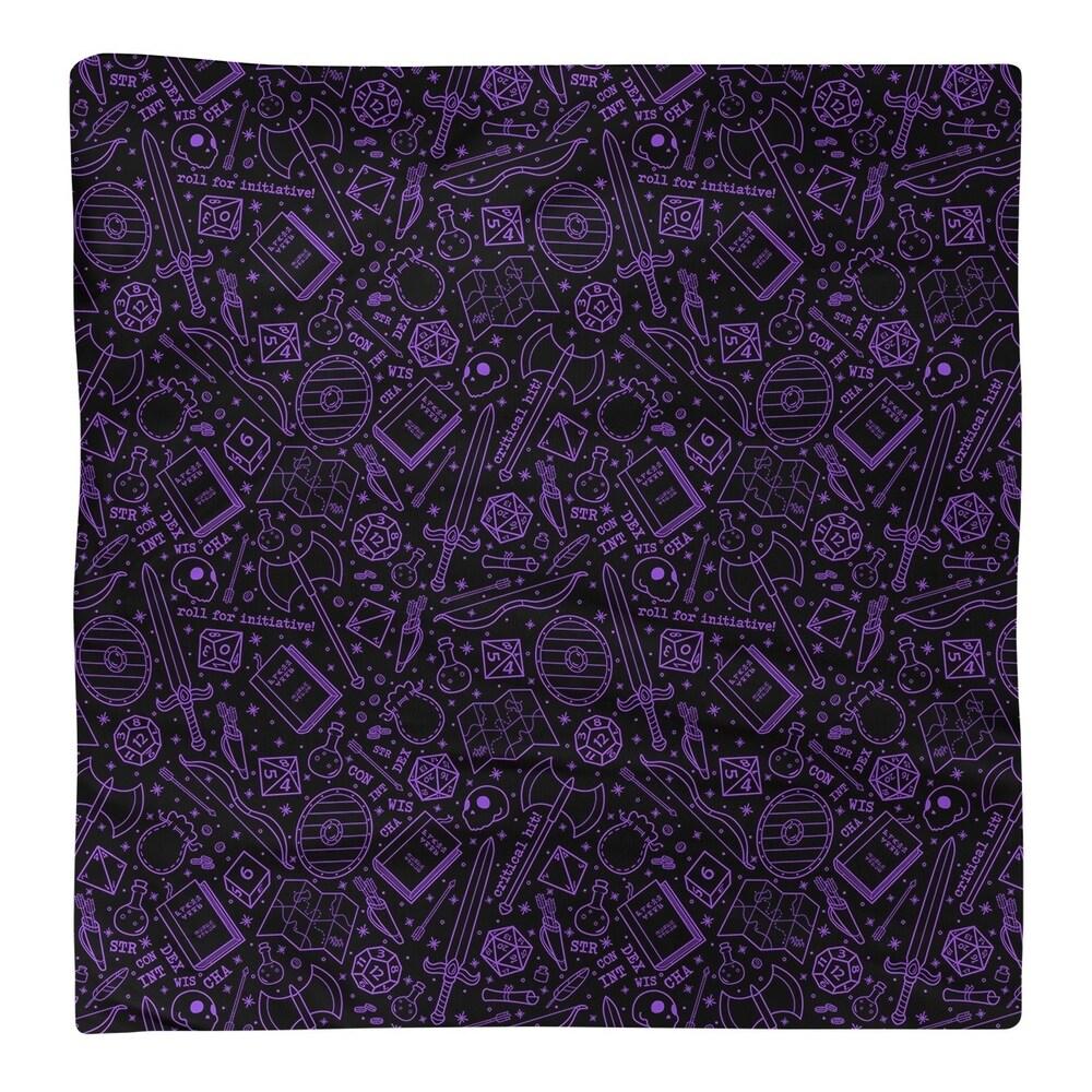 Shop Color Lines RPG Pattern Napkin - Overstock - 28527801