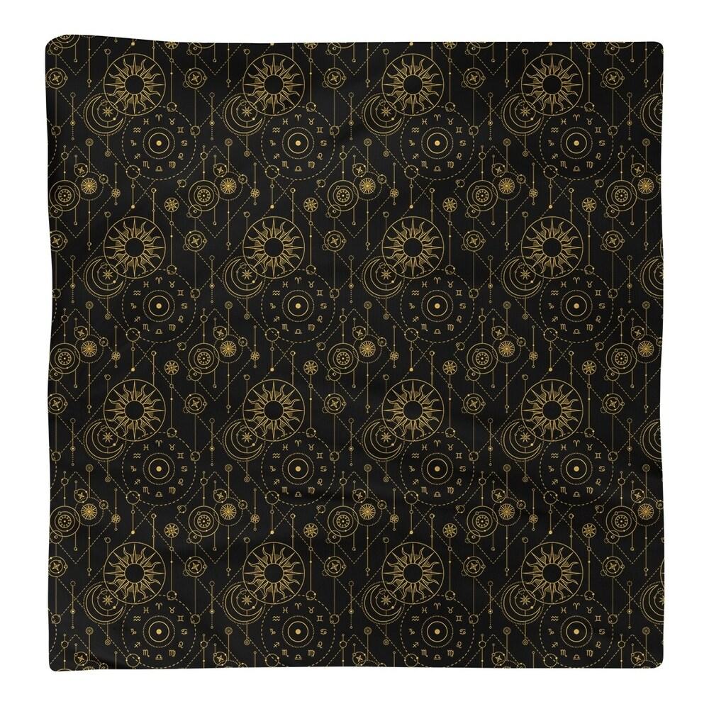 Shop Astrology Pattern Napkin - Overstock - 28527803