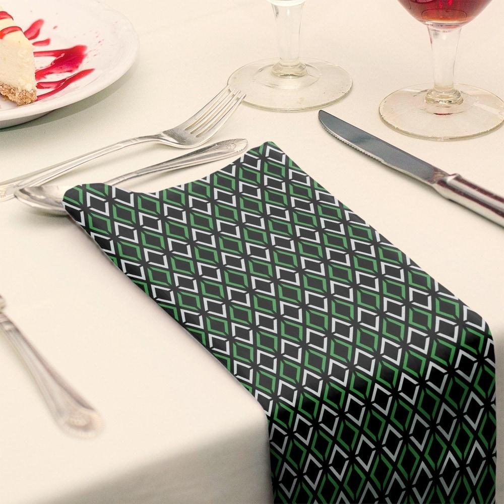 Shop Classic Arrow Diamonds Napkin - Overstock - 28527810