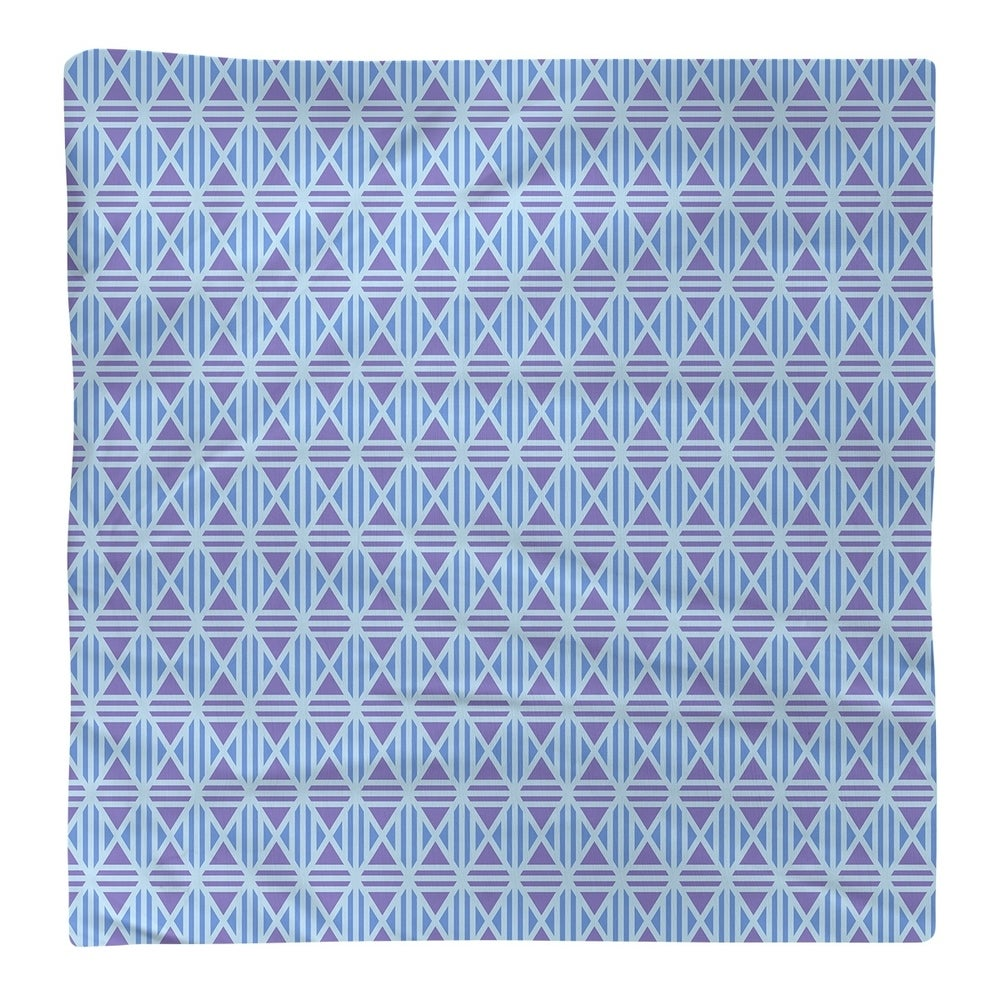 Shop Full Color Lined Diamonds Napkin - Overstock - 28527815