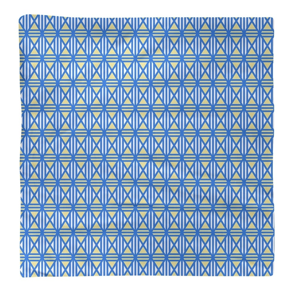 Shop Two Color Lined Diamonds Napkin - Overstock - 28527817