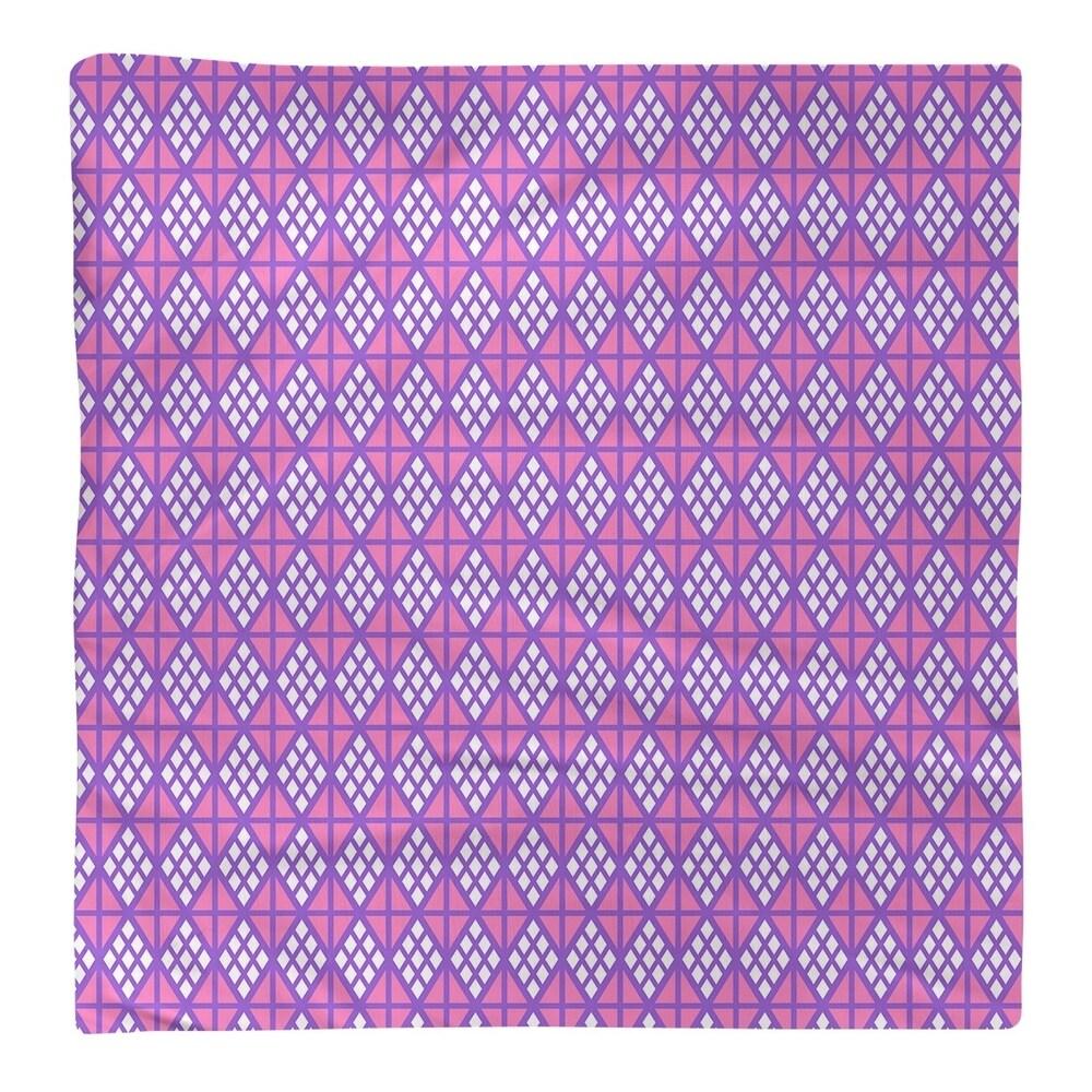 Shop Two Color Diamonds Napkin - Overstock - 28527821