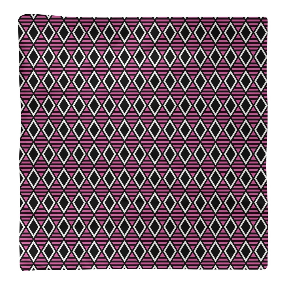 Shop Classic Geometric Diamonds Napkin - Overstock - 28527823