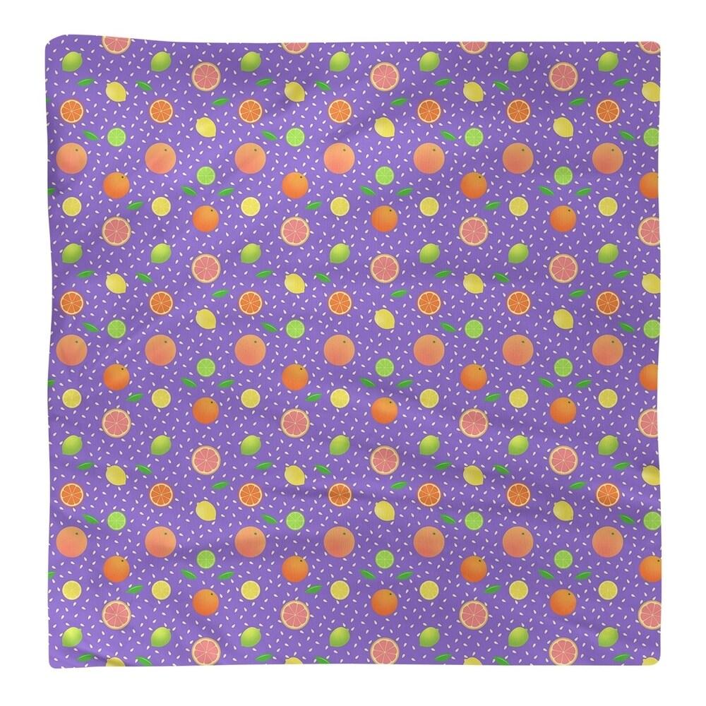 Shop Citrus Fruit Pattern Napkin - Overstock - 28527826