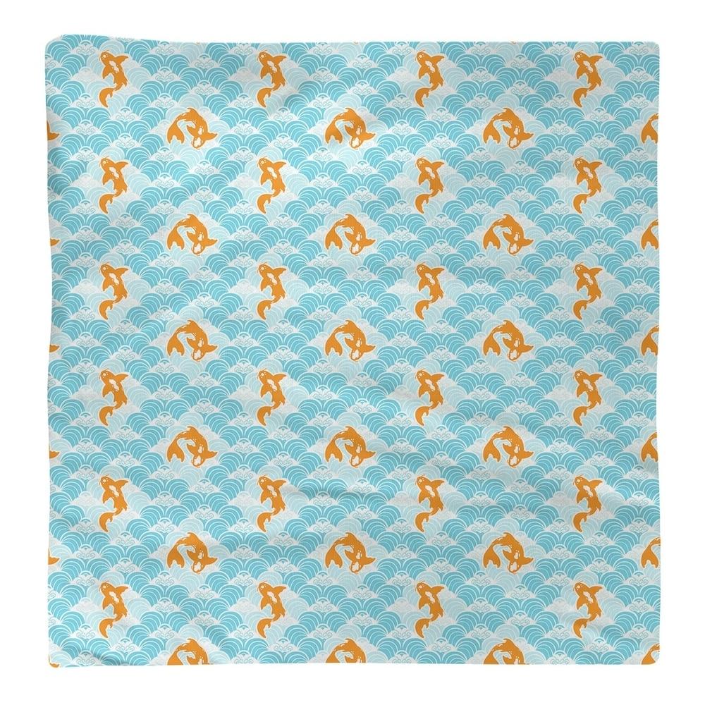 Shop Koi Fish & Waves Napkin - Overstock - 28527832