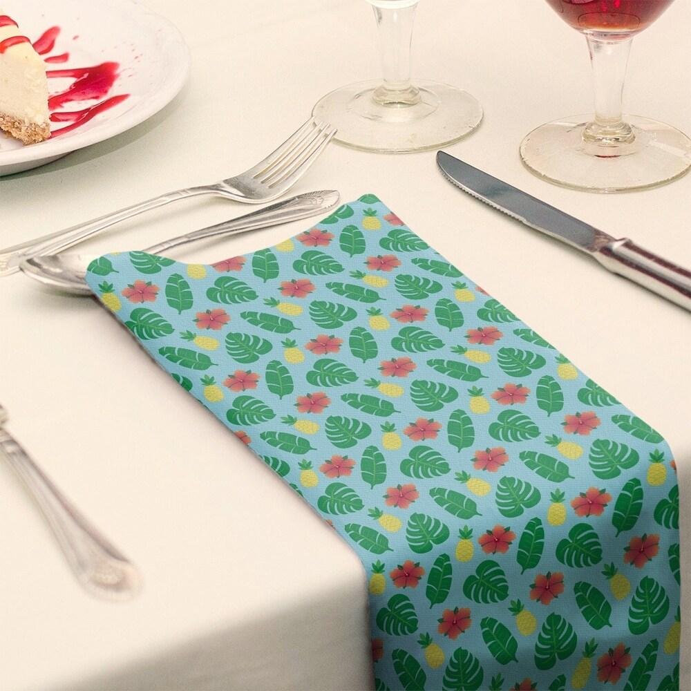 Shop Tropical Pattern Napkin - Overstock - 28527835