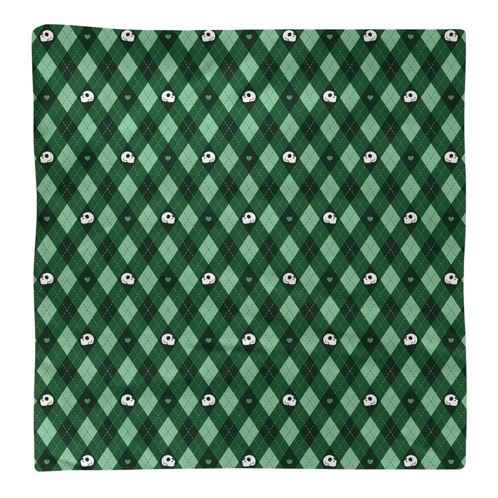 Shop Argyle Skulls Pattern Napkin - Overstock - 28527842