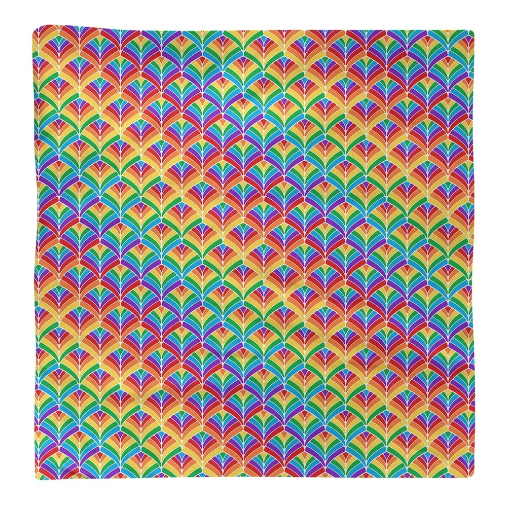 Shop Rainbow Scales Napkin - Overstock - 28527858